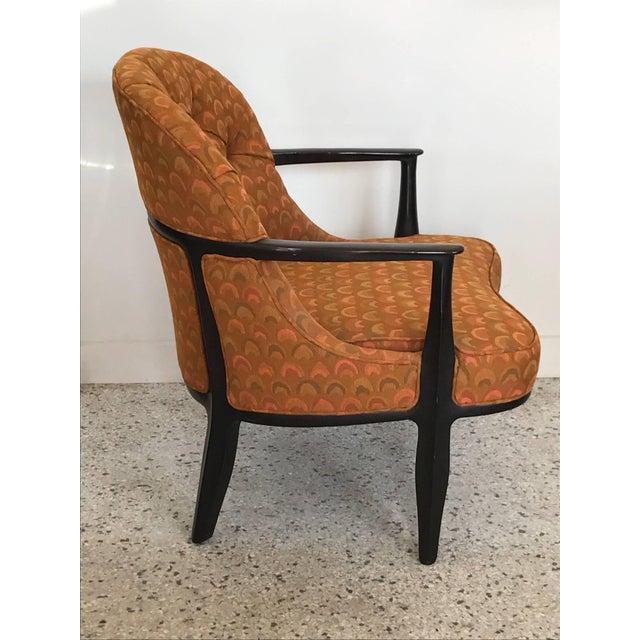 1960s Pair of Classic Dunbar Janus Armchairs in Larsen Fabric For Sale - Image 5 of 10