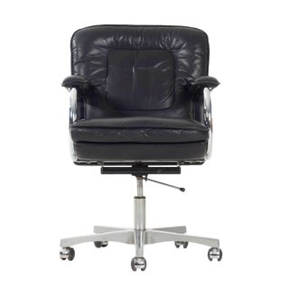 Mariani Leather Desk Chair For Sale
