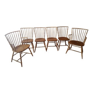 Nichols & Stone Dining Room Chairs - Set of 6 For Sale