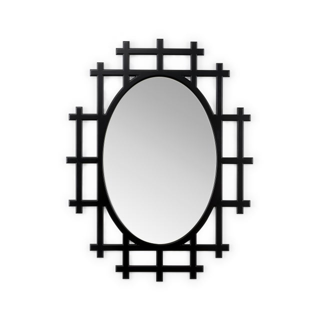 Contemporary Chelsea House Inc Black Organerie Mirror For Sale - Image 3 of 3