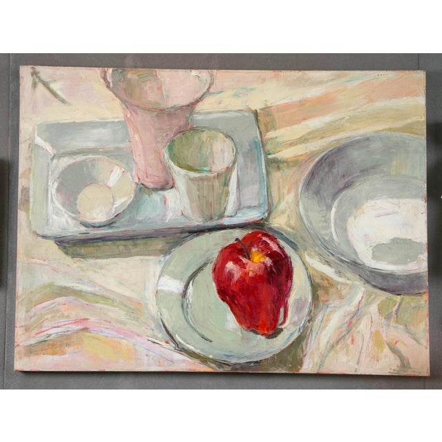 Dale Payson Still Life Oil on Canvas For Sale - Image 4 of 6