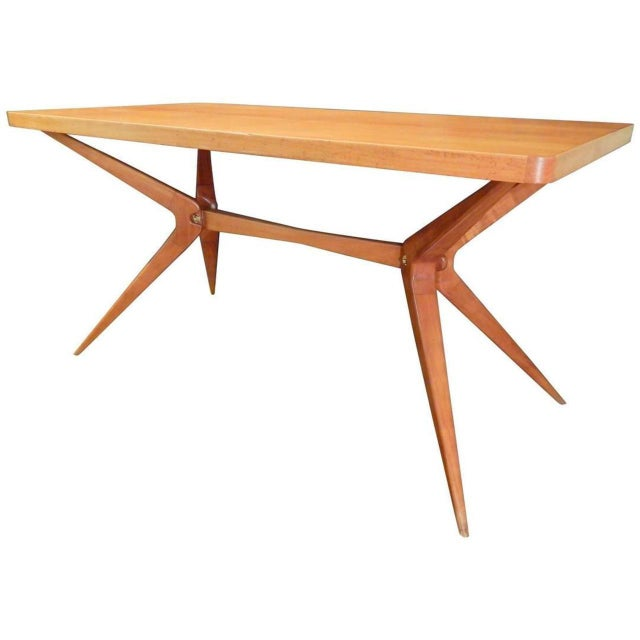 Ico Parisi Italian Dining Table For Sale - Image 9 of 9