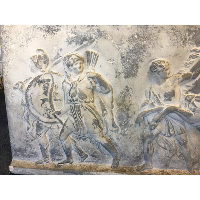 Mid 19th Century 19th Century Antique Greek Roman Frieze Stele For Sale - Image 5 of 10