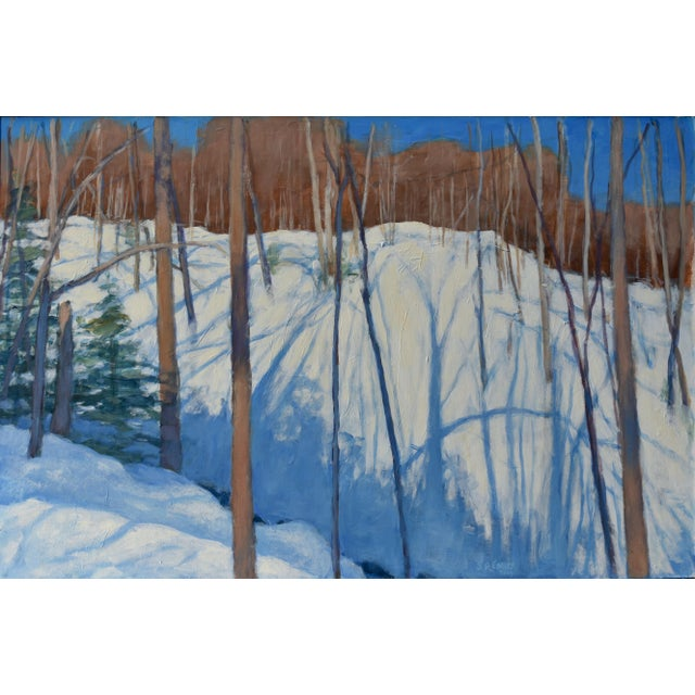 """Stephen Remick """"Sunny Ridgeline"""" Contemporary Painting For Sale - Image 12 of 12"""