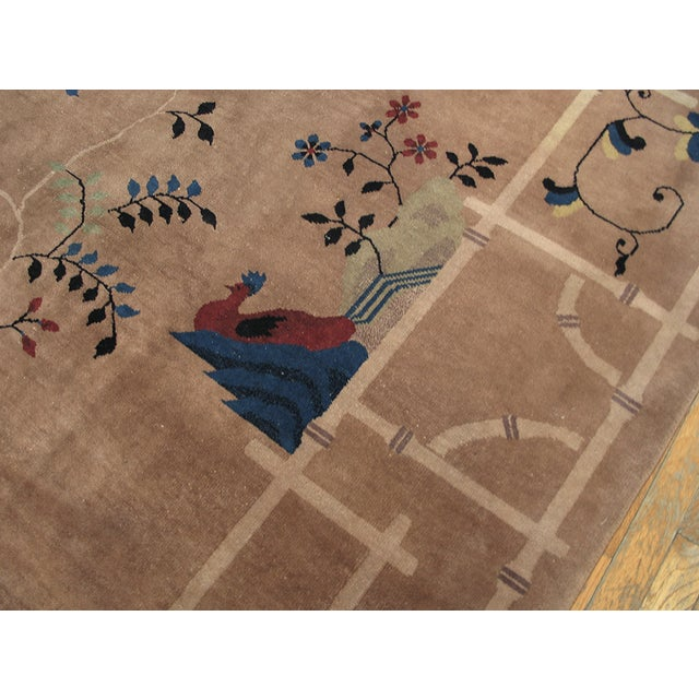 Antique Art Deco Chinese Rug For Sale In New York - Image 6 of 8