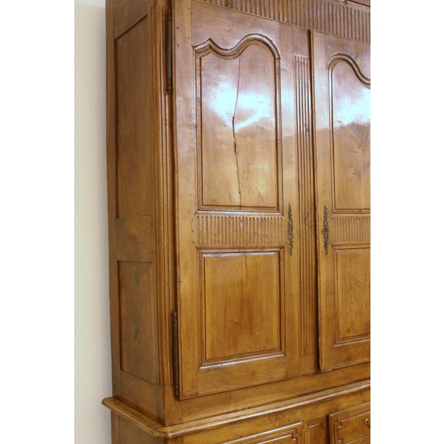 Louis XV Walnut Armoire in Walnut - Image 3 of 9