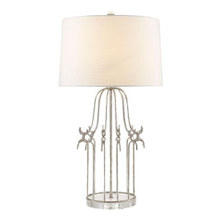 Stella Silver Table Lamp For Sale