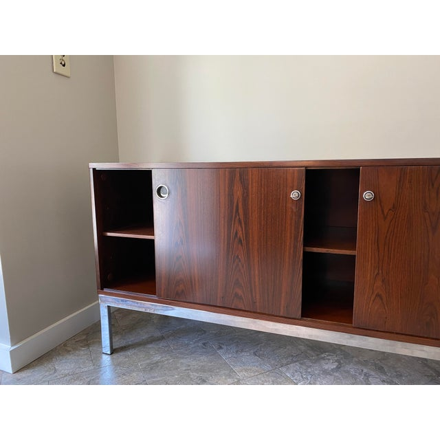 Vintage Console, From Italma Furniture Company, Designed by Jean Gillon, For Sale - Image 11 of 13