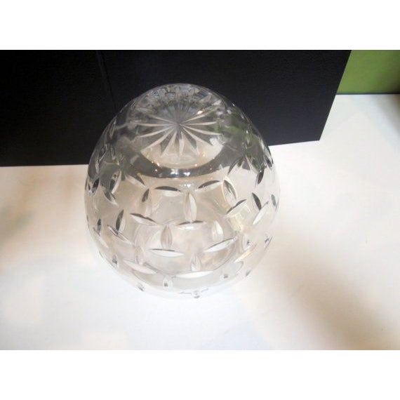 Authentic Tiffany Crystal Glass Vase - Image 6 of 7