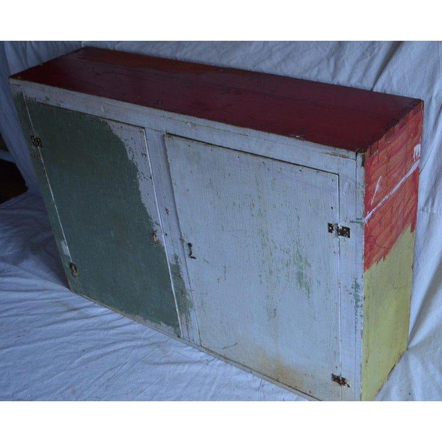 Cupboard Freestanding From Mid-1900s for Hallway, Kitchen or Entranceway Storage For Sale - Image 9 of 12