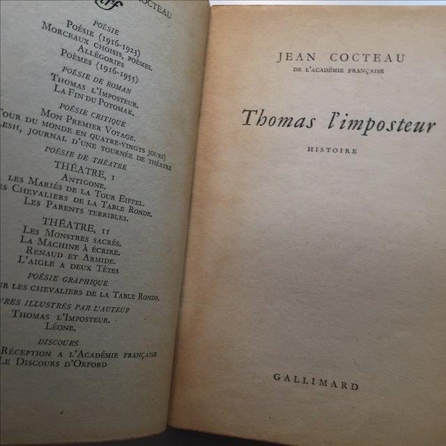 Thomas l'Imposteur Jean Cocteau 1923 Book - Image 5 of 7