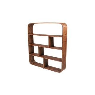 Bamboo étagère Room Divider Henry Olko - 1970 For Sale