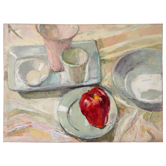 Dale Payson Still Life Oil on Canvas For Sale In New York - Image 6 of 6