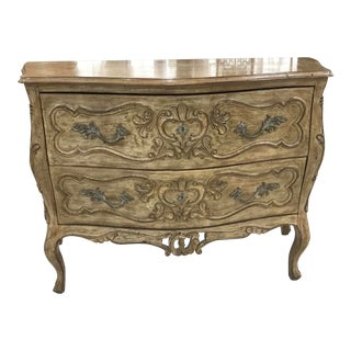 1970s French Style Louis XV Commode For Sale
