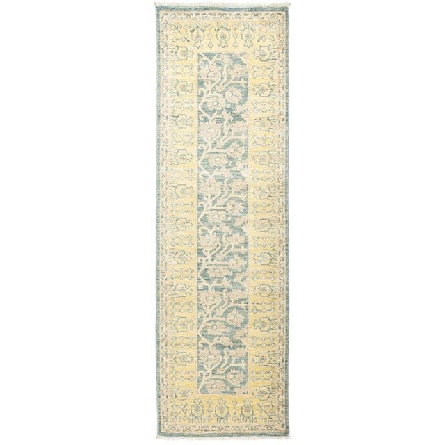 """Karachi, Eclectic Area Rug - 2' 6"""" X 8' 3"""" For Sale - Image 4 of 4"""