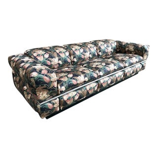 Adrian Pearsall for Craft Associates Chrome Sofa For Sale