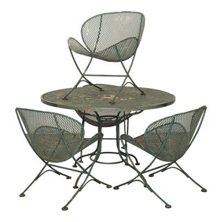 Maurizio Tempestini for Salterini Mid-Century Patio Set C.1950 For Sale