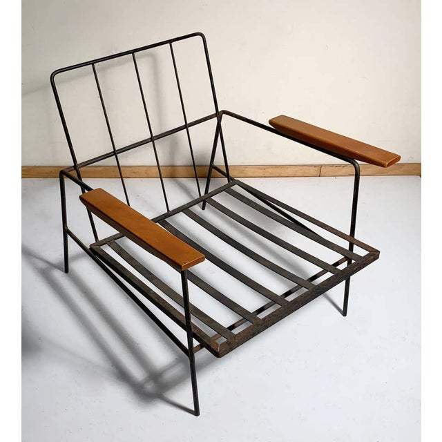 Vintage Modern Richard McCarthy Lounge Chair Frames- a Pair For Sale In Chicago - Image 6 of 7