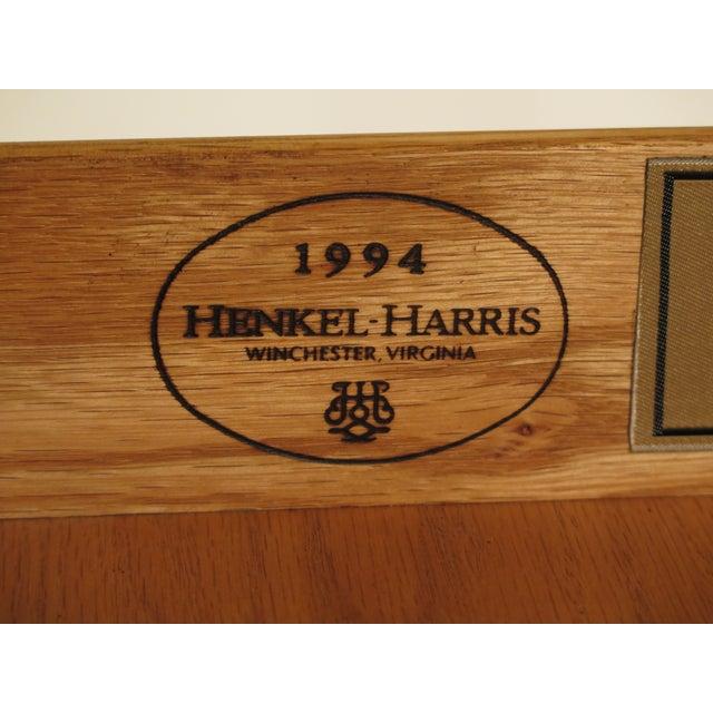 Henkel Harris Chippendale Mahogany Secretary Desk For Sale - Image 11 of 11