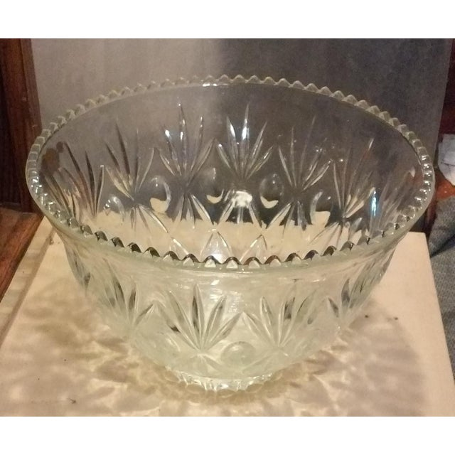 Crystal Punch Bowl - Image 5 of 6