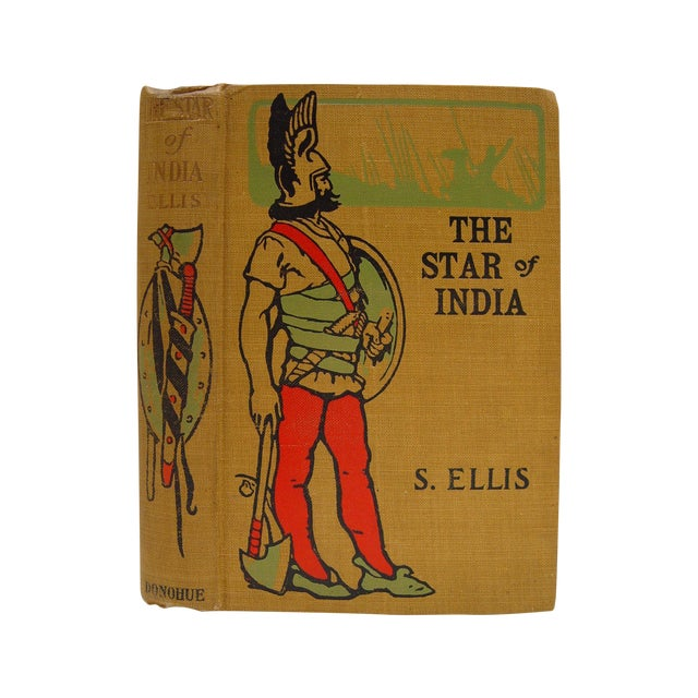 1888 The Star of India Book For Sale