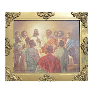 The Last Supper by Warner Sallman For Sale