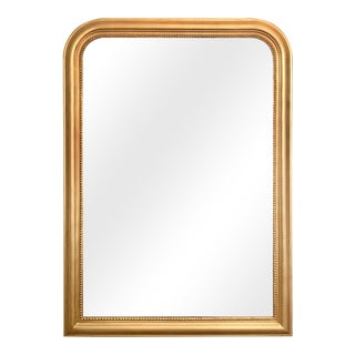 Duparc Gold Arch Solid Wood Frame Wall Mirror