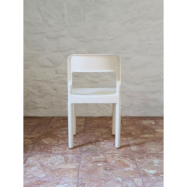 Carlo Hauner 1960s Vintage C. Haunter Elco Dining Chair For Sale - Image 4 of 6