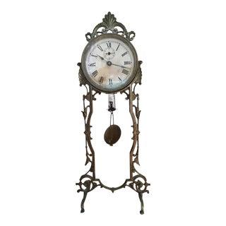 Late 19th Century Vintage Waterbury Mantel Clock For Sale