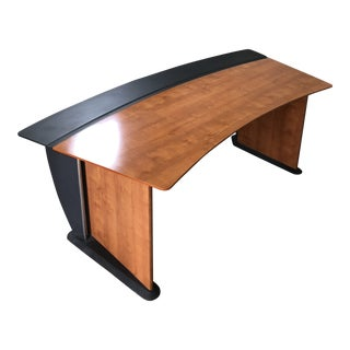 French Designer Guatier Executive Desk For Sale