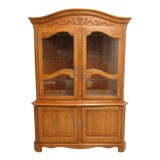 Image of Ethan Allen Legacy French County Server China Cabinet For Sale