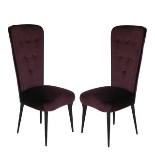Pair of Italian Bedroom Chairs For Sale