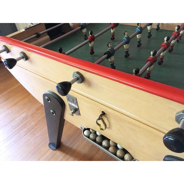 Vintage Classic B Bonzini French Foosball Game Table Chairish - Bonzini foosball table