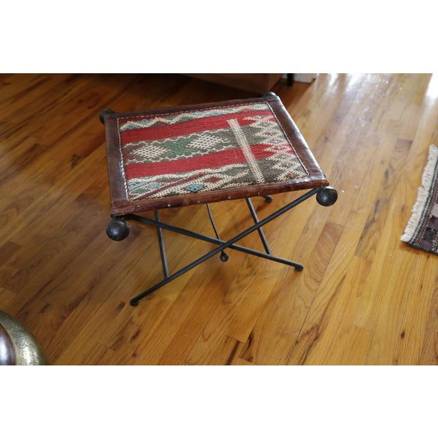 Funky, functional and super stylish Moroccan seat/chair/stool which can double as a little table as well. The base is...