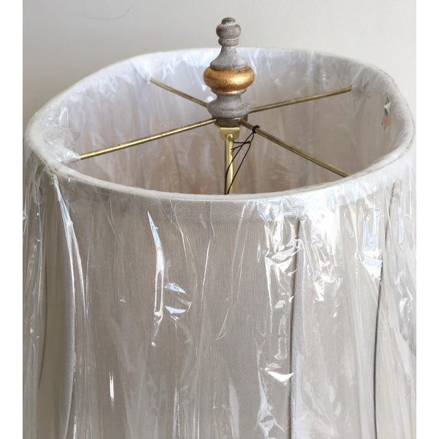 Paint Bradburn Gallery French-Style Urn Lamp with Shade For Sale - Image 7 of 7