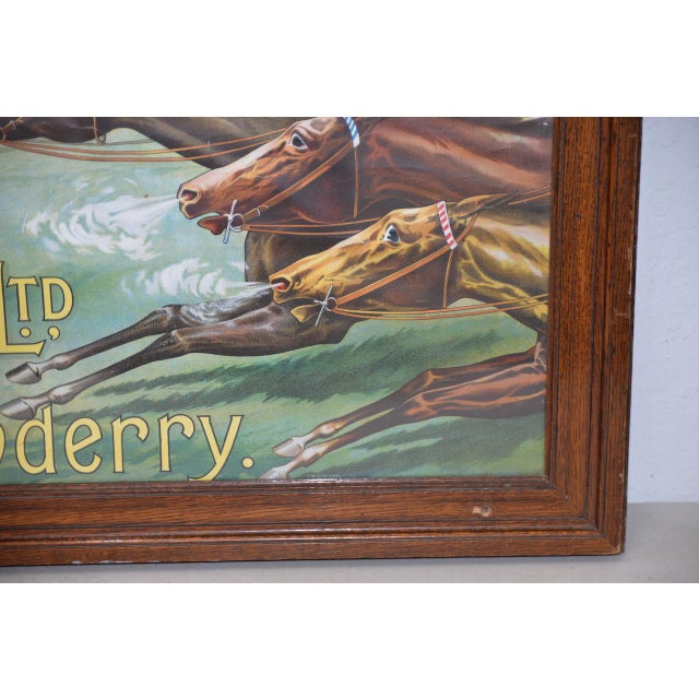 Early 20th Century 1001 to 1 Tyrconnell Wins! Victorian Whiskey Poster C.1900 For Sale - Image 5 of 12
