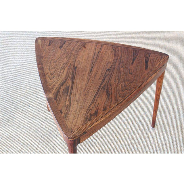 Danish Rosewood Table, 1960s For Sale - Image 4 of 10