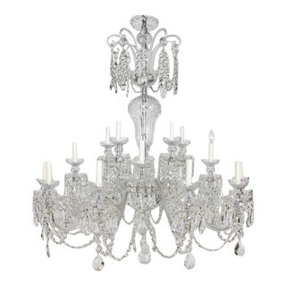 Early 21st Century Preciosa Czech Crystal Chandelier - Showroom Sample For Sale