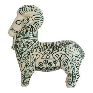 Decorative Ceramic Ram For Sale