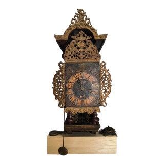 1875-1900 Dutch Wall Bracket Clock For Sale
