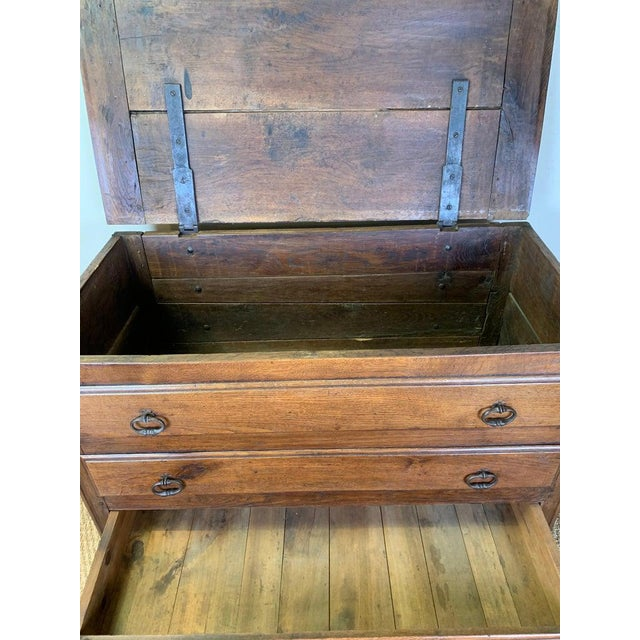 Late 18th Century French Blanket Chest For Sale - Image 12 of 13