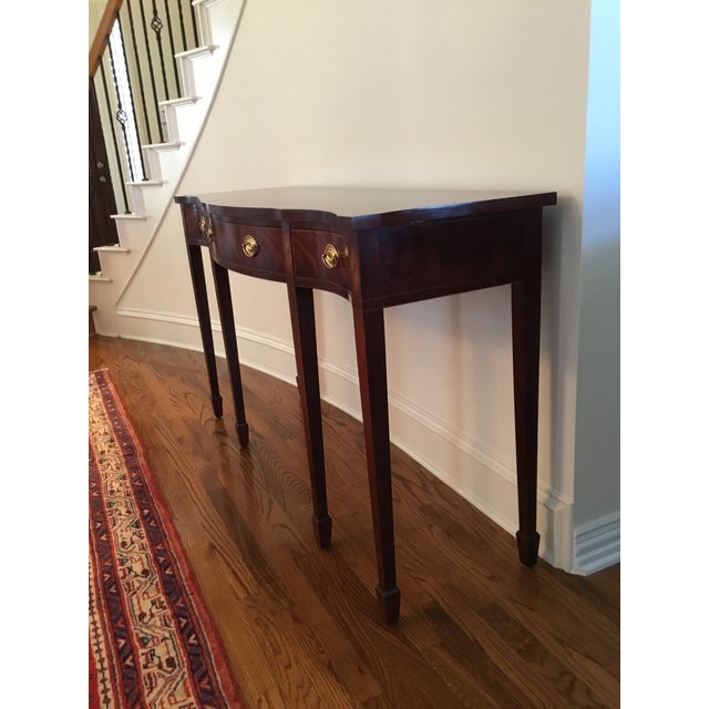 Baker Furniture Company 1990s Federal Baker Historic Charleston Sideboard For Sale - Image 4 of 5