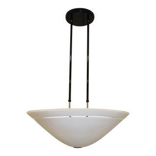Murano Due Mid-Century Modern Murano Glass Pendant Lamp For Sale