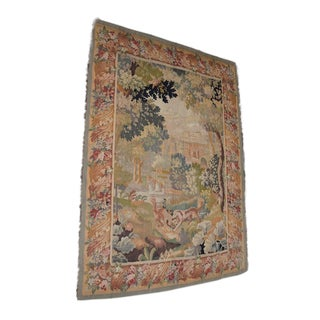 Early 20th Century Hand Made French Tapestry For Sale