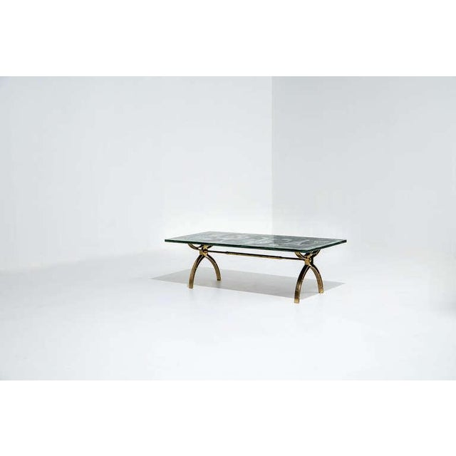 Fontana Arte Dubé (Duilio Bernabe) Coffee Table, Circa 1950s For Sale In Detroit - Image 6 of 8