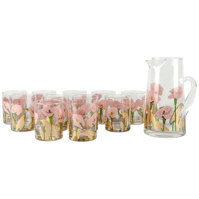 Vintage Martini Cocktail Glassware - Set of 11 For Sale - Image 13 of 13