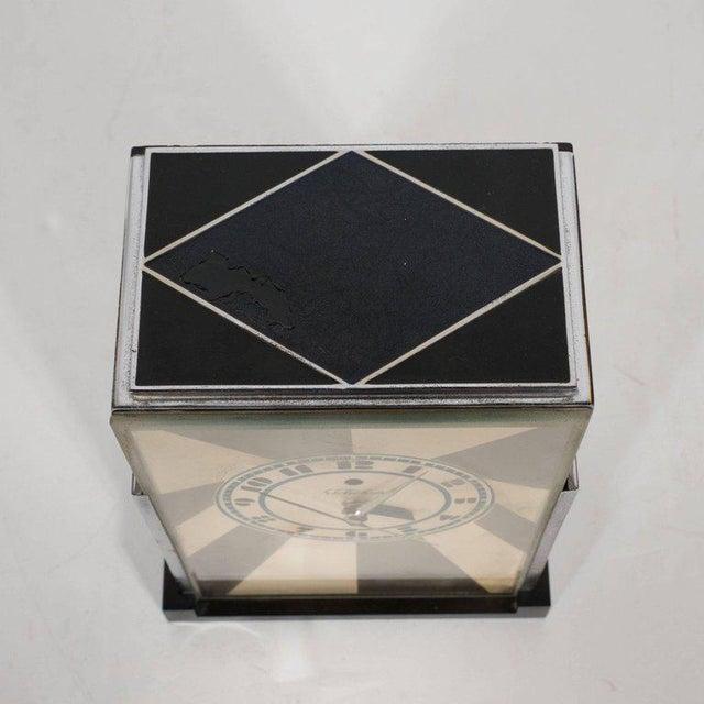"Warren Telechron Co. ""Modernique"" Clock by Paul Frankl for Warren Telechron Company, circa 1928 For Sale - Image 4 of 9"