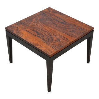 Rosewood Side Table by Knoll For Sale