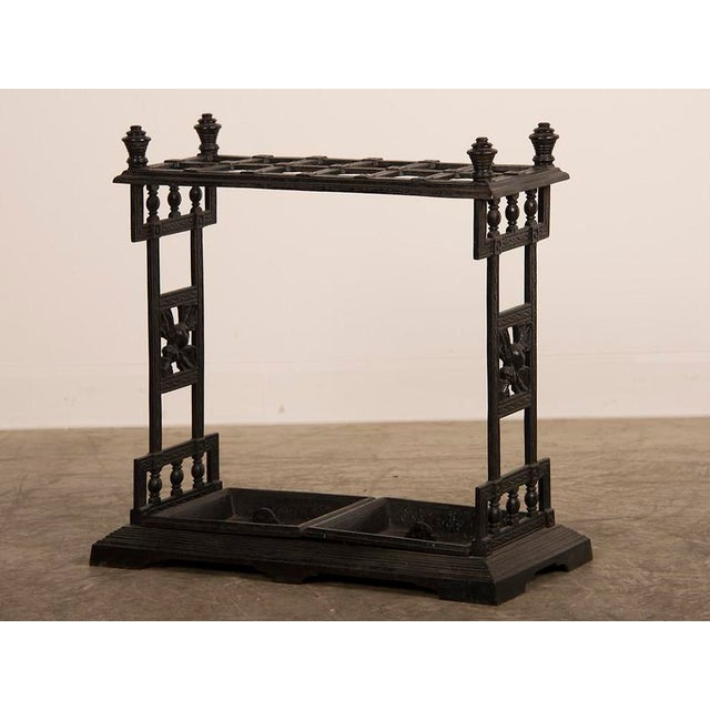 Mid 19th Century Cast Iron Umbrella/Cane Stand, England C.1850 For Sale - Image 5 of 10