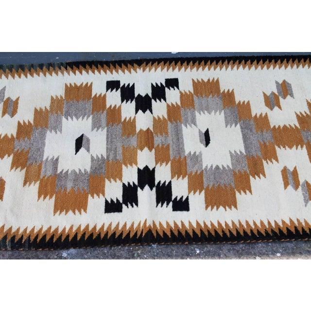 Navajo Navajo Indian Weaving Saddle Blanket For Sale - Image 3 of 3